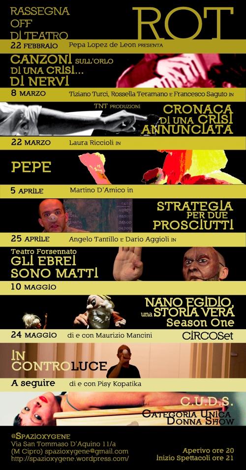 Rassegna Off Teatro SpaziOxygene