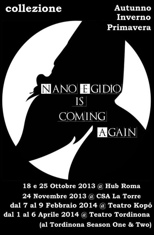 Nano Egidio stagione 2013 2014